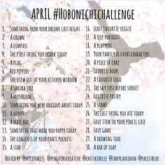 Are you guys ready for another Hobonichi challenge in April? We have another set of prompts for you to continue our creativity in our journals! Be sure to share your lovely pages with the hashtag #hobonichichallenge  hosted by me, @palestblue @mylifemits @chotskibelle and @inkycauldron #Hobonichi #challenge #sketcheveryday #art #draw #doodle #daily #journal #writing