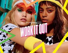 M∙A∙C Work It Out - available from March 2017 at Travel Retail locations worldwide for a limited time