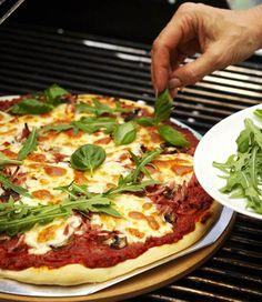 BBQ Pizza - Grillipizza, resepti – Ruoka.fi