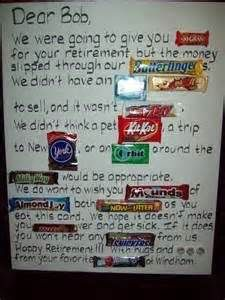 Giant Retirement Party Card With Candy