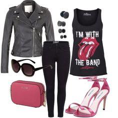 Pink Rock Outfit Outfit für Damen zum Nachshoppen auf Stylaholic