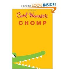 Chomp...this was supposedly a kids book, but the only difference was slightly less-scary bad guys.  Nobody had a weed-whacker attached to his amputated arm-stump or anything.  I liked it!!