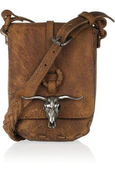 1701c5d0f969 Western bag braided handle leather Ralph Lauren Bags