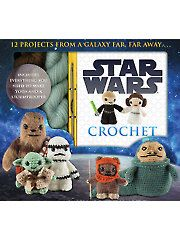 With Star Wars pretty topical right now (is Star Wars ever not topical?) this collection of former Inside Crochet contributor, Lucy Collins' popular Star Wars amigurumi will be a treat for any Star Wars fan! Star Wars Crochet, Crochet Stars, Amigurumi Patterns, Crochet Patterns, Crochet Kits, Amigurumi Doll, Crochet Stitches, Crochet Baby, Frozen Crochet