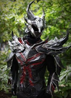 Impressive Skyrim Daedric Armor. Super Impressive.