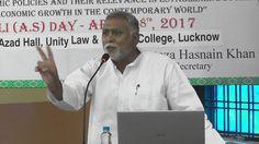Prof Mahrukh Mirza speaking at the Ali Day Symposium on 8 April, 2017.