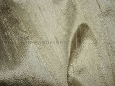 a2f14b50c4 Dupioni Silk Fabric in Gold and Grey Sold By the Yard, Indian Silk fabric, Raw  Silk, Silk Fabric for wedding dresses