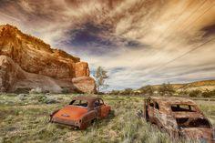 Lupton, Arizona. Along 66.