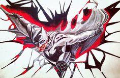 """""""#batman #colorpencils #artwork"""" Line Art Images, Moose Art, Batman, Instagram Posts, Artwork, Color, Work Of Art, Auguste Rodin Artwork, Colour"""