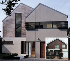 A 1960s house updated with new facade and eco features