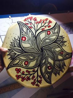 Drum by Nehiyaw/Michif artist Jaime Koebel Morse Native Symbols, Native Art, Native American Art, Frame Drum, Drums Art, Hand Drum, Oil Drum, Tambourine, Indigenous Art