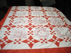 Joan's redwork from my quilt patterns