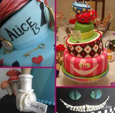 Festa com o tema Alice no País das Maravilhas