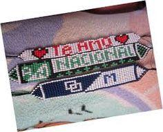 Resultado de imagen para collares en mostacillas checas con nombres Jewelry Art, Friendship Bracelets, Beaded Bracelets, Home, Bracelets, Fabrics, Patterns, Manualidades, Names