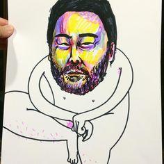 David choe fan art by @baddrawingsok