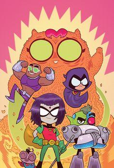 Teen Titans Go 16 DC Comics Cartoon comic book Cover Robin Cyborg Raven Slade Wilson beast boy Teen Titans Go, The New Teen Titans, Beast Boy, Teen Titans Pictures, Comic Movies, Comic Books, Dc Comics, Beste Comics, Tmnt Girls