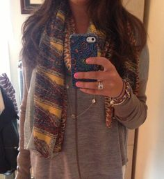 Cute fall outfit! Love the David Yurman ring and other accessories