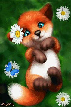 Big Emoji, Smiley Emoji, Animated Love Images, Animated Gif, Gifs, Beau Gif, Fox Images, Angel Wallpaper, Paint Effects
