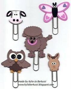 Kylie Bertucci - Stampin' Up! Demonstrator Australia, Victoria: Stampin' Up! Punch Art Bookmark Kits