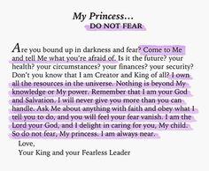 I am His princess