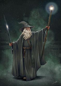 Gandalf by DanPilla on DeviantArt