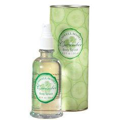 Caswell-Massey - Cucumber Body Splash (Bring it Back! Body Spray, Cucumber Ideas, Fragrance, Perfume, Shoe Bag, Accessories, Design, Women, Products