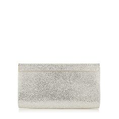 JIMMY CHOO Cayla Champagne Glitter Clutch Bag. #jimmychoo #bags #clutch #glitter #hand bags #