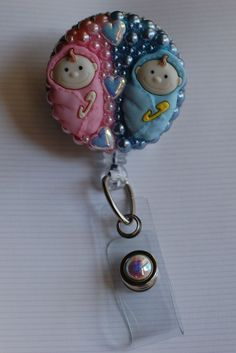 Calling All Pediatric Nurses....check out this ID Badge Reel.....visit www.zipperedheart.etsy.com