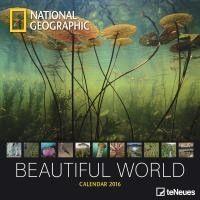Calendário de Parede Te Neues National Geographic Beautiful World 30X30 - 2016