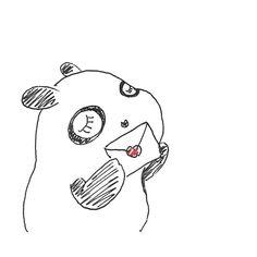 【一日一大熊猫】2016.7.23 ふみの日。 #パンダ #ふみの日