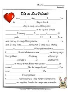 San valentin, Spanish valentines day movie talk and song.  Great lessons for Spanish 1