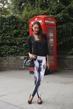 Jourdan Dunn #streetstyle #fashion #modeloffduty