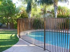 Image result for rod iron fencing Pool