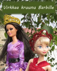 Virkkausohje Barbien kruunuun