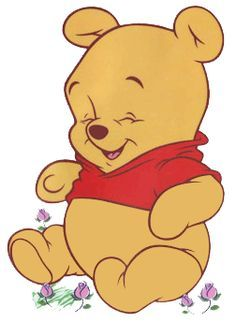 Awww! Baby Pooh Bear!