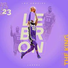 James 1, King James, Nba Players, Basketball Players, Lebron James Wallpapers, Lakers Wallpaper, Sports Graphic Design, Magic Johnson, Los Angeles Lakers
