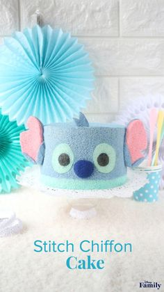 a94098dc63 Your Ohana Will Go Nuts for This Stitch Chiffon Cake