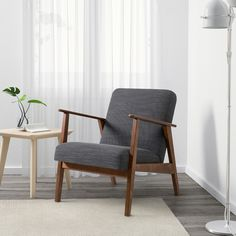 Ikea Bank, Ikea Armchair, Comfy Armchair, Ikea Family, Fabric Armchairs, Just Relax, Scandinavian Design, Seat Cushions, 1950s