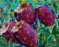 Southwest Treats by Catalina O. Rankin acrylic on canvas Treats, Canvas, Artwork, Nature, Painting, Inspiration, Sweet Like Candy, Tela, Biblical Inspiration