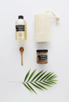 Domino shares a DIY way to make your own spa products at home.