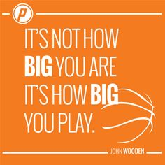 Playmakers play big! Sport Quotes, Calm, Motivational, Inspiration, Big, Sports, Biblical Inspiration, Hs Sports, Sport