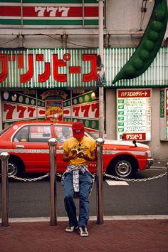Harry Gruyaert    JAPAN. Tokyo. 1996.