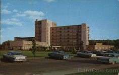 Fort Wayne Parkview Mem Hospital. Across the road from St Jude's grade school. Remember Amish horse carriages driving up during recess in 1960s.