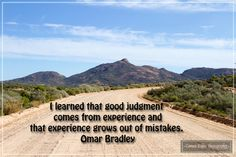 Photo by Coreen Kuhn Quote by Omar Bradley Location: Namaqua National Park #coreenkuhnphotography #landscapephotography #travelphotography