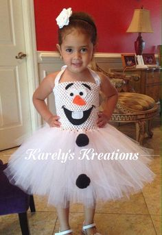 This listing is for one Olaf tutu dress      I can make it in any size Sizes: 6 yrs + is an additional $5.00    Please convo me to tell me size