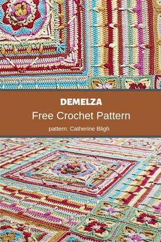 Free Mandala Crochet Patterns, Crochet Symbols, Crochet Chart, Crochet Blanket Patterns, Free Crochet, Crochet Afghans, Crochet Blankets, Crochet Stitches, Double Crochet Decrease