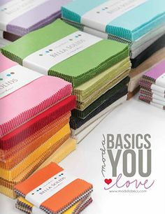 Moda Fabrics - Producer of Quilting Fabric, Sewing Notions, and Home Decor BASIC FABRIC CATALOG
