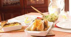 Lemon chicken Crispy chicken roast with lemon Crispy Chicken, Lemon Chicken, Roast Recipes, Yum Yum Chicken, Gluten Free Recipes, Free Food, Glutenfree, Cheese, Chicken Flatbread