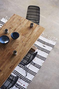 Kitchen details ✨ Turkish Kilim from www.tigmitrading.com