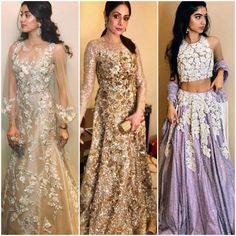Sridevi and her daughters play muse to Manish Malhotra and they look nothing less than regal!